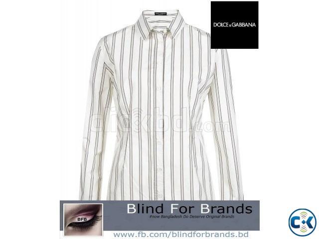 Oroginal Dolce Gabbana Stripe Shirt | ClickBD large image 0