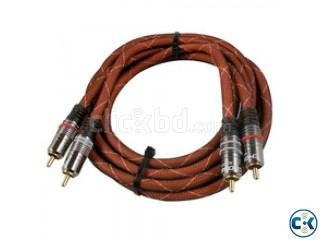 AUDIOPHILE INTERCONNECT RCA 2.5 M INTACT.