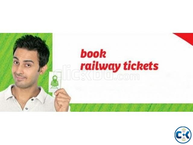 BIMAN AND TRAIN TICKET BOOKING | ClickBD large image 0