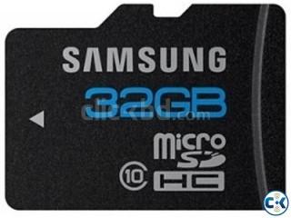 32 GB Samsung Class 10 Memory Card