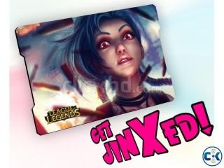 League of Legends Jinx Mouse Pad