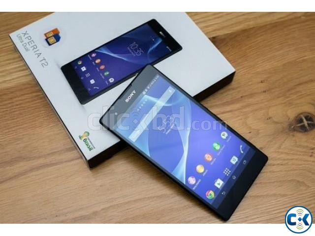 Sony Xperia T2 Ultra dual Brand new at Boshundhara | ClickBD large image 1