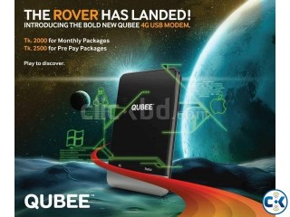 QUBEE Black ROVER 4G Modem