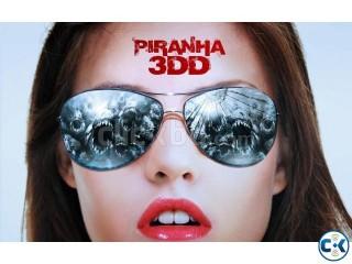 Piranha 3DD BluRay 350 SBS 3D Movies 01717-157436