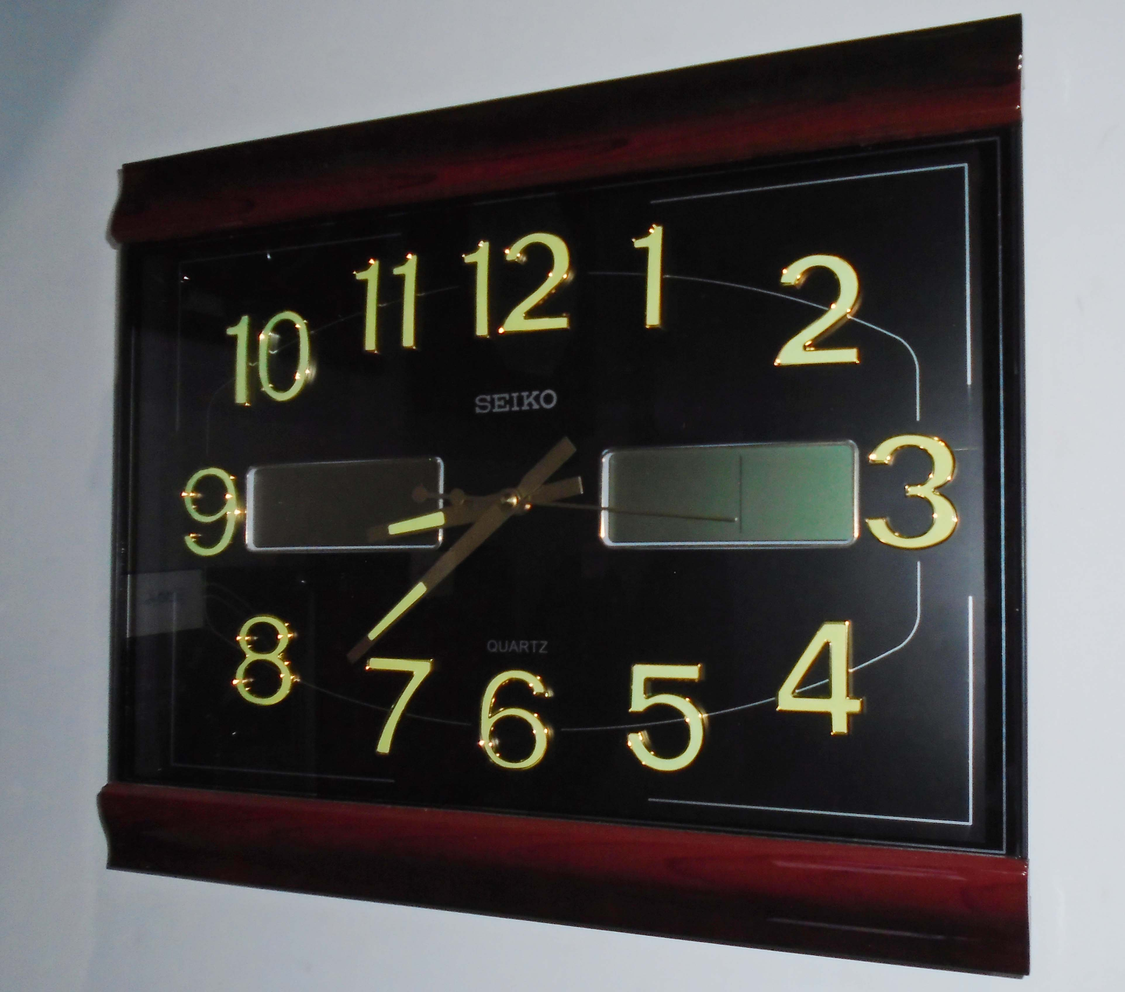 Wall Clock Seiko Brand Clickbd