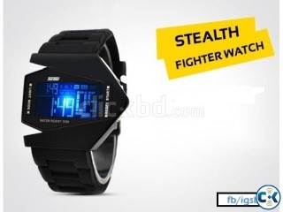 Eid OFFER Multi-Color Stealth Fighter Watch