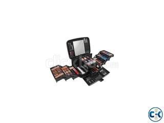 Pretty Pink Deluxe Cosmetics Case and Make-Up Set