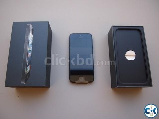 Intact Box iPhone 5 32GB Black Color_Limited Stock By DXGen