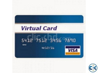 Verity your account with Virtual Credit card