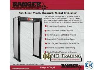 ND Trading Ranger 6zone metal detector