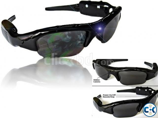 Spy Camera Sunglasses New  | ClickBD large image 2