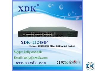 POE Network Switch 24 port SFP switch