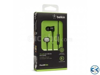 Original Belkin PureAV 006 Hoofdtelefoon Headphone.