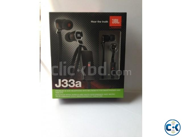 JBL J33A in-ear headphones microphone | ClickBD large image 1