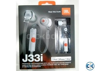 JBL J33i In-ear Headset Microphone Remote