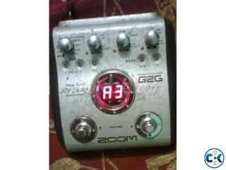 Zoom G2G Guitar Prossesor