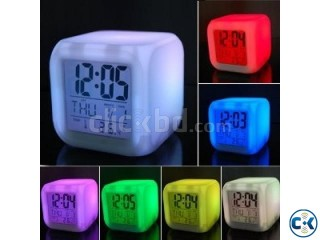 7 Color Changing Clock