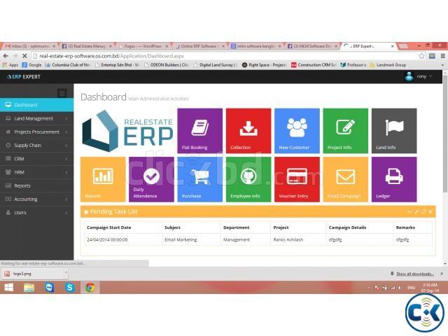 Real Estate Management Software | ClickBD large image 0