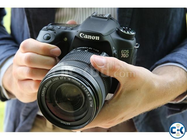 Цифровой фотоаппарат Canon EOS 70D Kit 18-135 IS STM