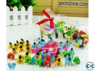 Mini Angry Birds Erasers 40 pics