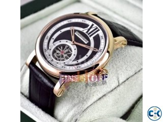 Cartier Tourbillon watch With box 5 year warranty