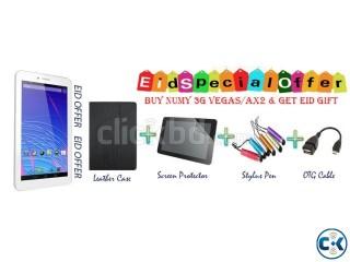 Ainol Numy 3G AX Vegas With Case S.Proc Stylus OTG Eid Offer