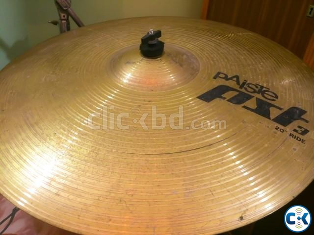 pAiSTe pst3 20 Ride Cymbal Made in Germany  | ClickBD large image 0