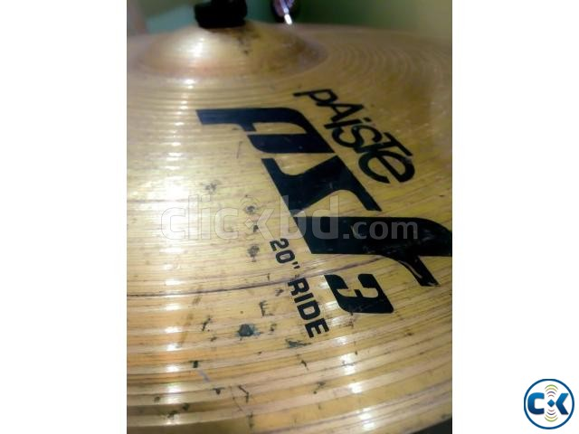 pAiSTe pst3 20 Ride Cymbal Made in Germany  | ClickBD large image 1
