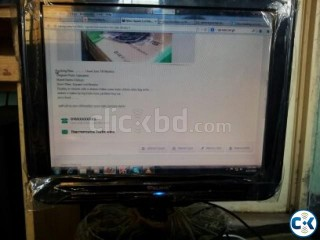 Looking As Like New 16inc Square Lcd Monitor only For 3100