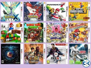 Nintendo 3DS Copy Game All Collection See Inside.
