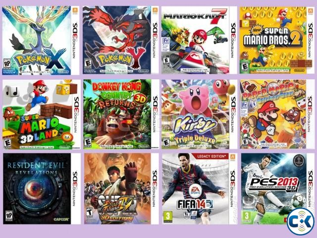 Nintendo 3DS Copy Game All Collection See Inside. | ClickBD large image 0