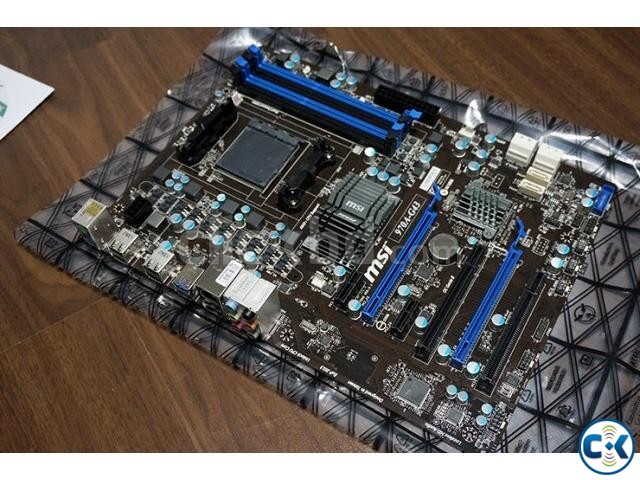 Msi 970a-g43 am3 motherboard for sell | ClickBD