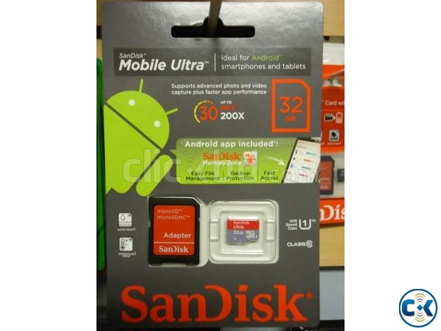 SanDisk 32GB micro SD Memory Card Class 10  | ClickBD large image 0