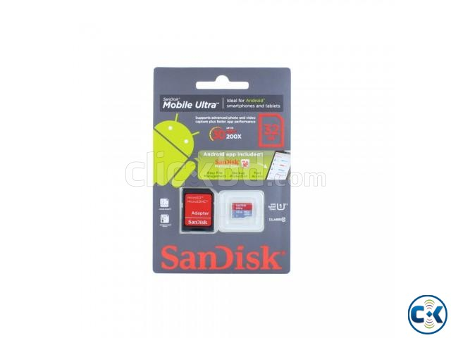 SanDisk 32GB micro SD Memory Card Class 10  | ClickBD large image 2