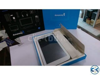 Amaway A725 White Dual SIM 3G Phone Tablet 7.0