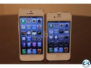 I Phone 5 nad I Phone 4s White