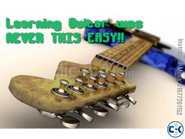Expert Guitar tutor in Gulshan | ClickBD large image 0