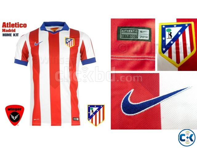 finest selection fa8fc e3f66 Atletico Madrid Authentic Soccer Jersey 14 15 Home | ClickBD