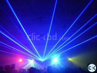 Laser Light Sound Based Play