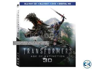 Transformers 4 3D 4K BLURAY