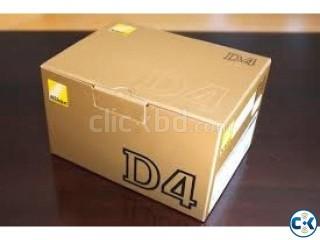 Nikon D4 DSLR Camera Body