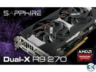 Sapphire r9 270x dual x 4gb graphics