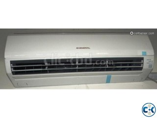 Extra cooling general brand split type ac 1 ton