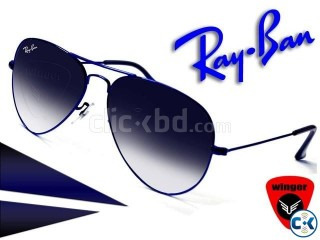 Ray-Ban Metal Aviator Sunglasses Blue