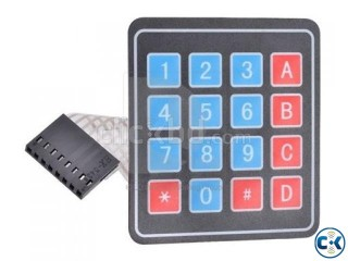 4x4 keypad switch