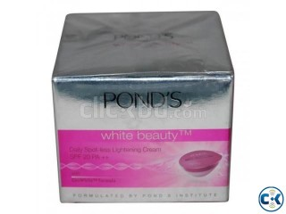 Ponds White Beauty 25gm India Save Tk 18