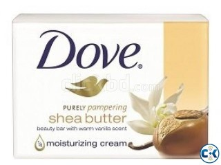 Dove Soap SHEA BUTTER 135gm Save Tk 8