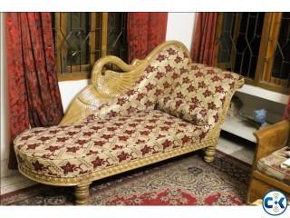 Royal Divan Top Quality Fully Sagoon Made