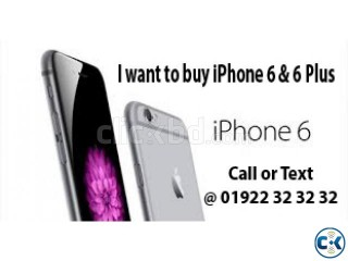 I WANT TO BUY IPHONE 6 6 ANY QUINTATY INSTANT CASH PAYMANT