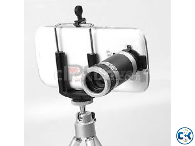 Universal optical zoom hd telescope camera lens with mobile